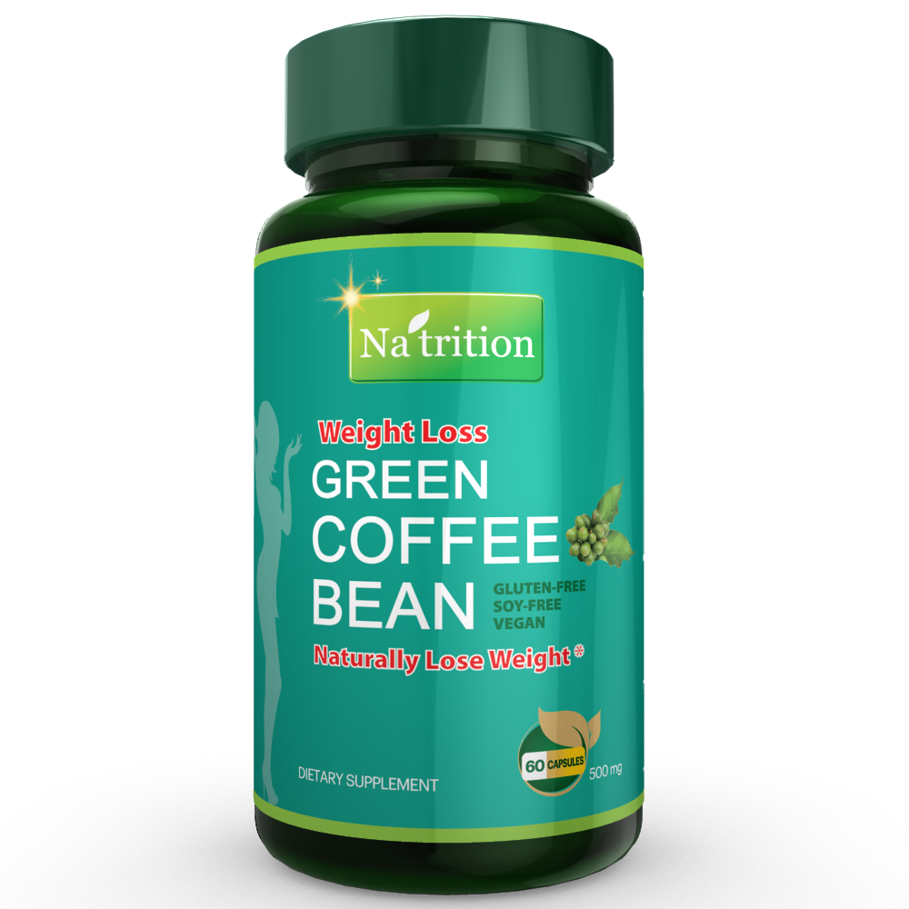 Green Coffee Plus Green Tea Extract Capsules The Green Blend Of